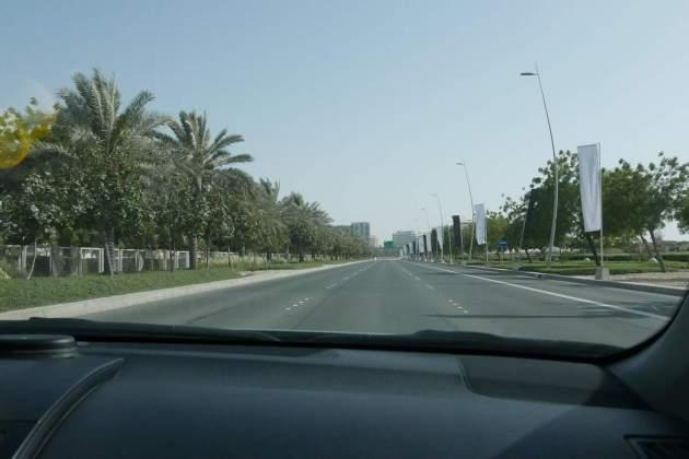 abudhabi highway green
