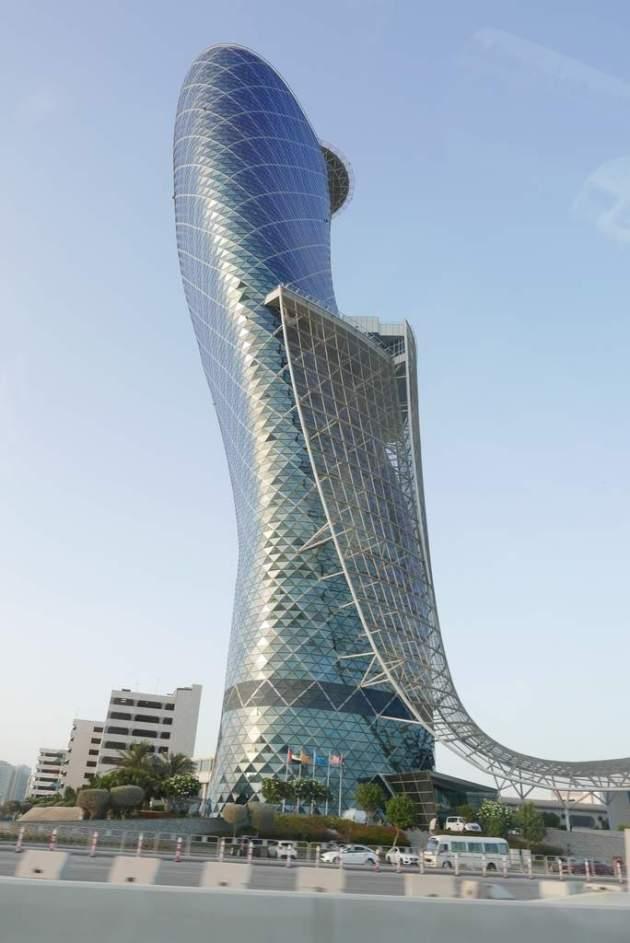 abudhabi leaning tower