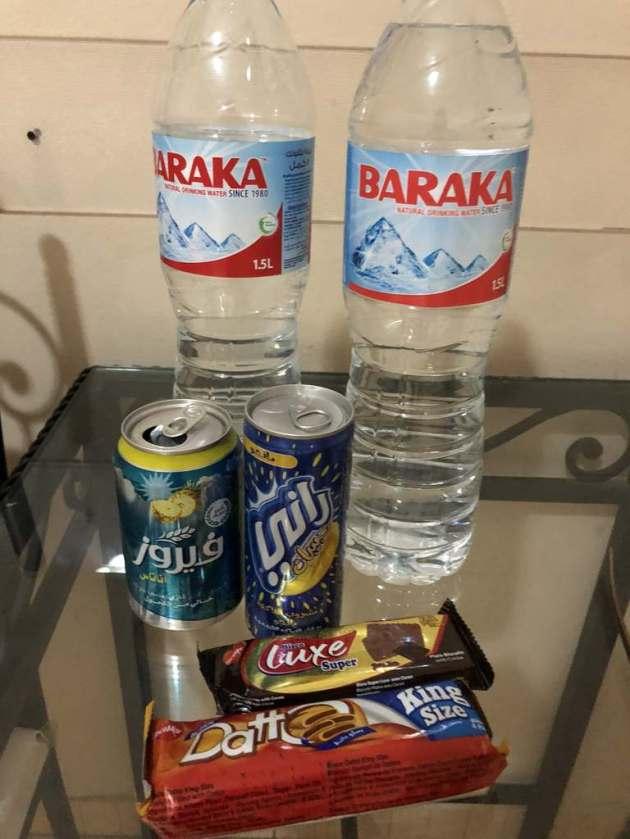 drinks snacks