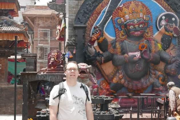 durbar square me statue
