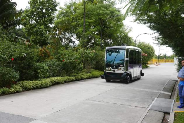 gardens transporter