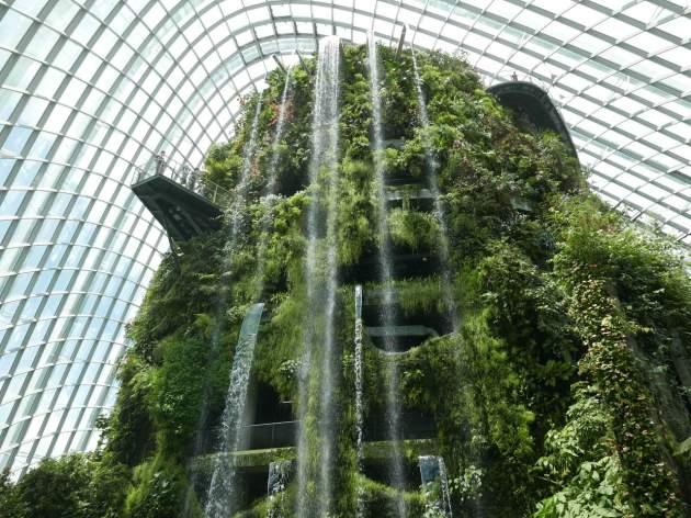 gardens waterfall