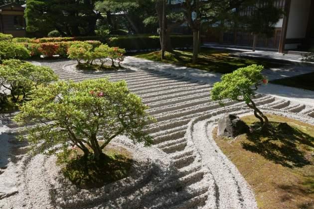ginkaku garden