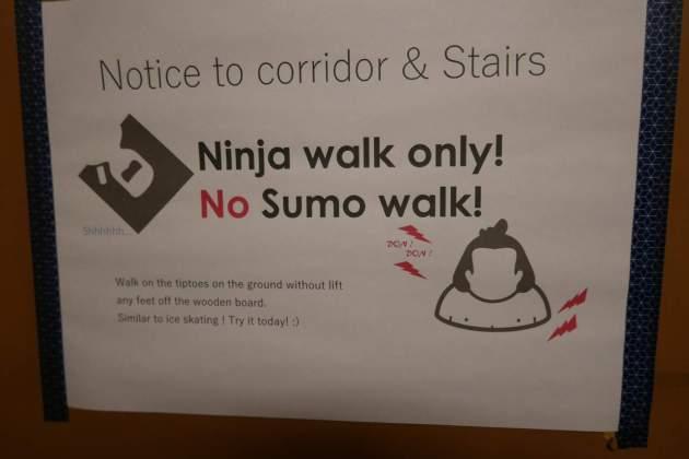 guesthouse ninja walk