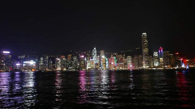hk kowloon panorama