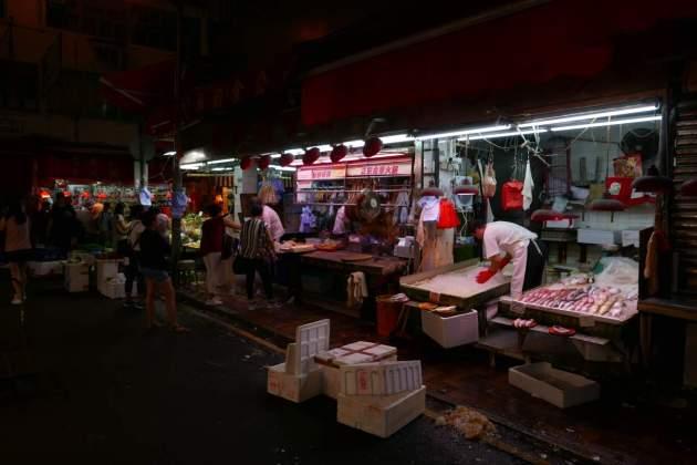 hk market fish