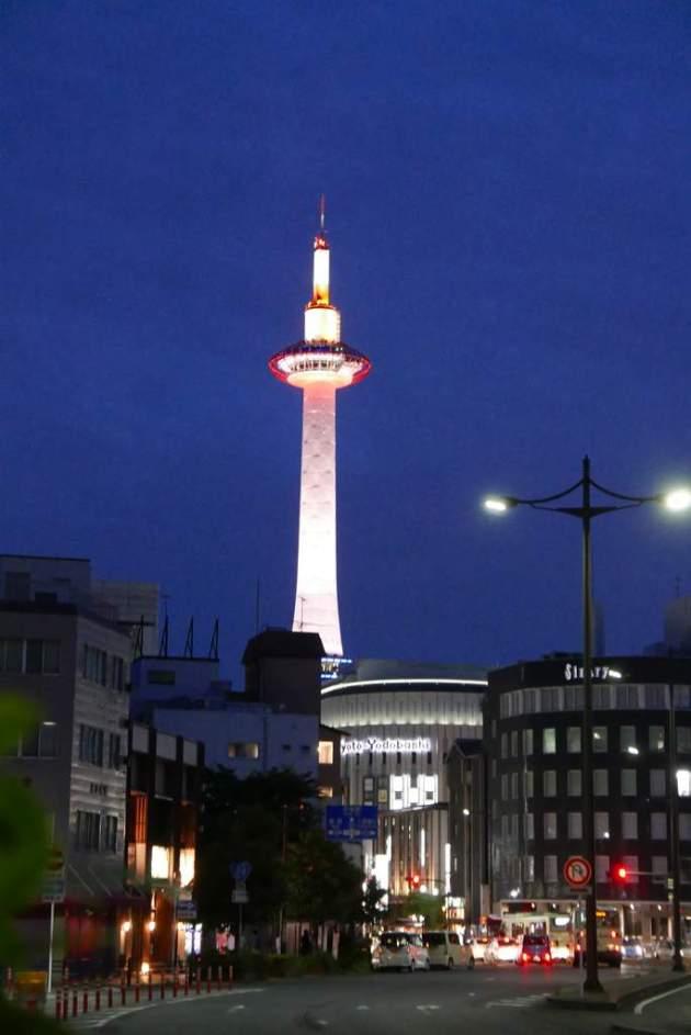kyoto tower yodobashi