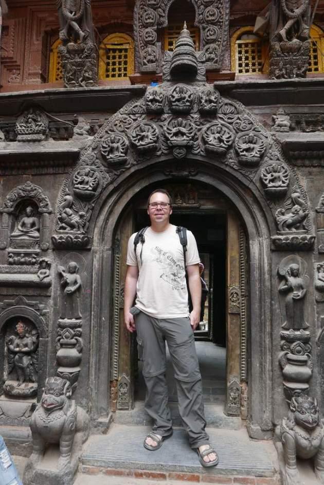 patan me entrance monastery