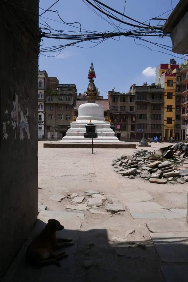 stupa back alley