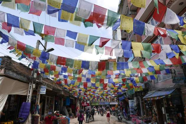 thamel prayer flags
